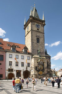 Old Town Hall with the Astronomical Clock